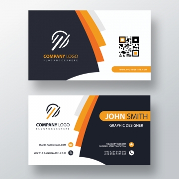Business Card Format PNG Images.