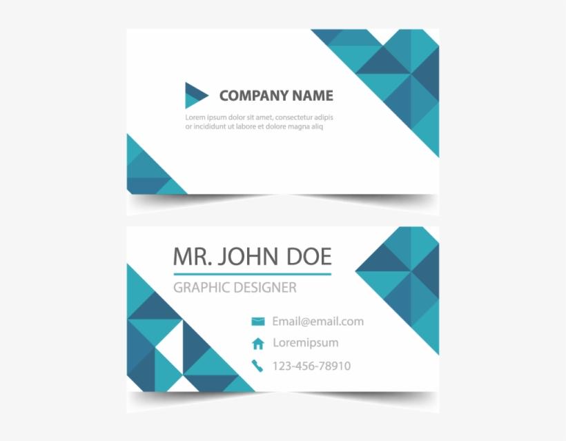 Blue Corporate Business Card Template.
