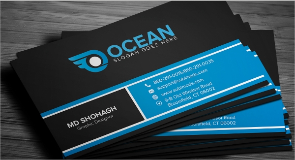 33+ Free Business Card Templates.