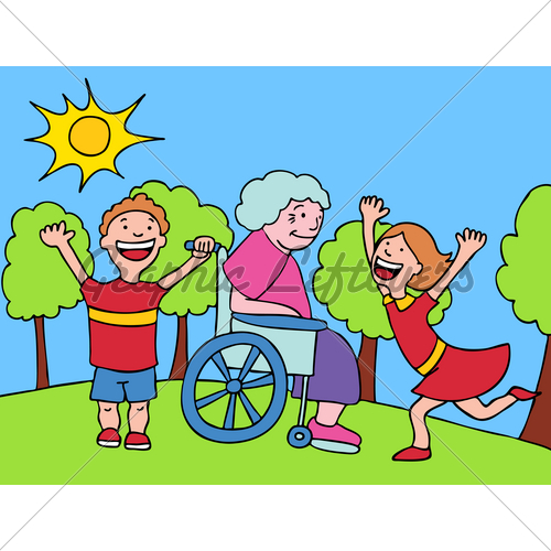 Grandma With Grandkids · GL Stock Images.