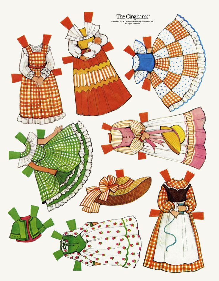 1000+ images about ✄ Printable Paper Dolls on Pinterest.