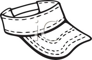 A_Sports_Visor_Royalty_Free_Clipart_Picture_110307.