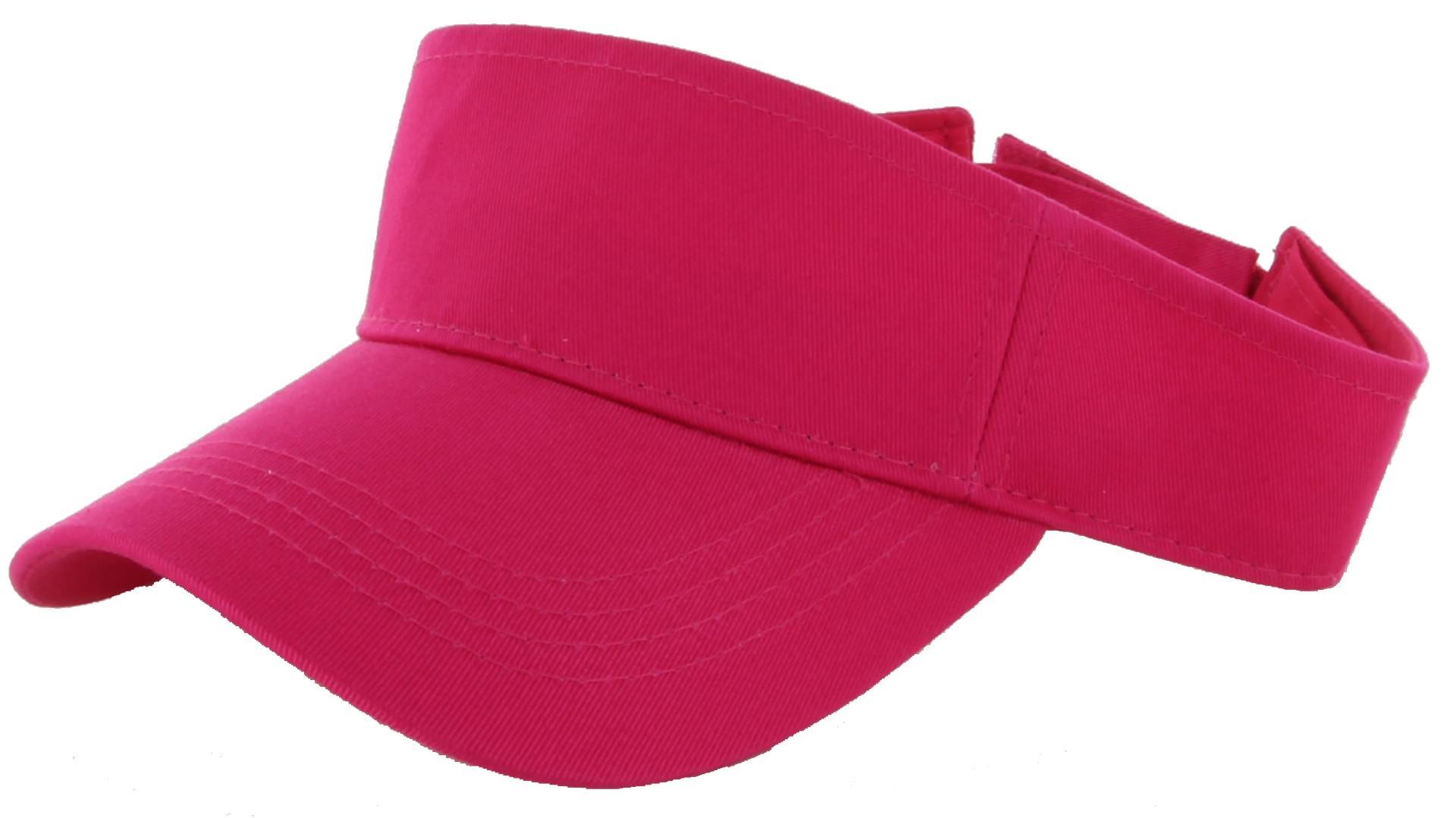Visor Sun Plain Hat Sports Cap Colors Golf Tennis Beach New.