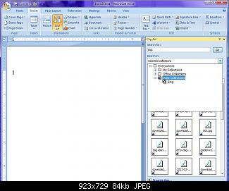 Office clipart shows WAV icons in Vista, but not XP.