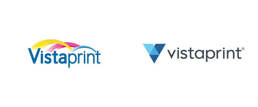Noted: New Logo and Identity for Vistaprint by Tank Design and In.
