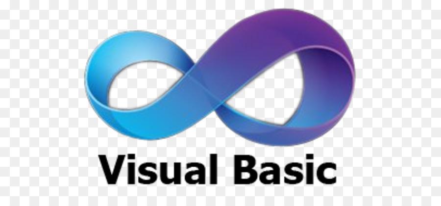 Visual Basic Blue png download.