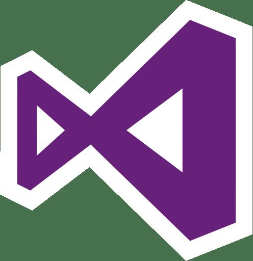 Visual Studio Logo transparent PNG.