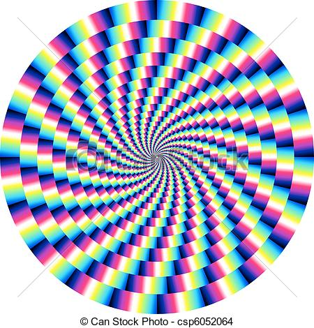EPS Vector of Optical Illusion.