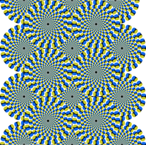 Optical illusions clip art.