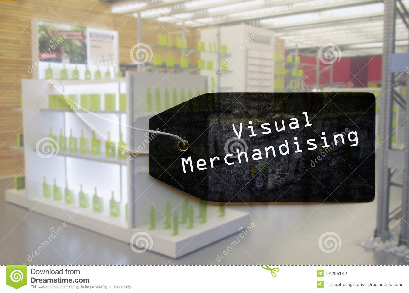 Visual Merchandising Label Stock Illustrations.