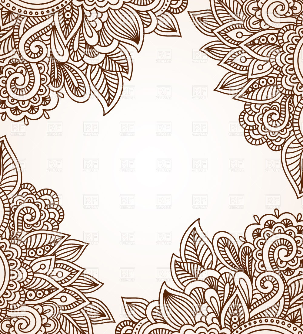 Ornaments Background Clipart.