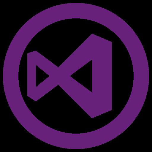 Microsoft, studio, visual, windows icon icon.