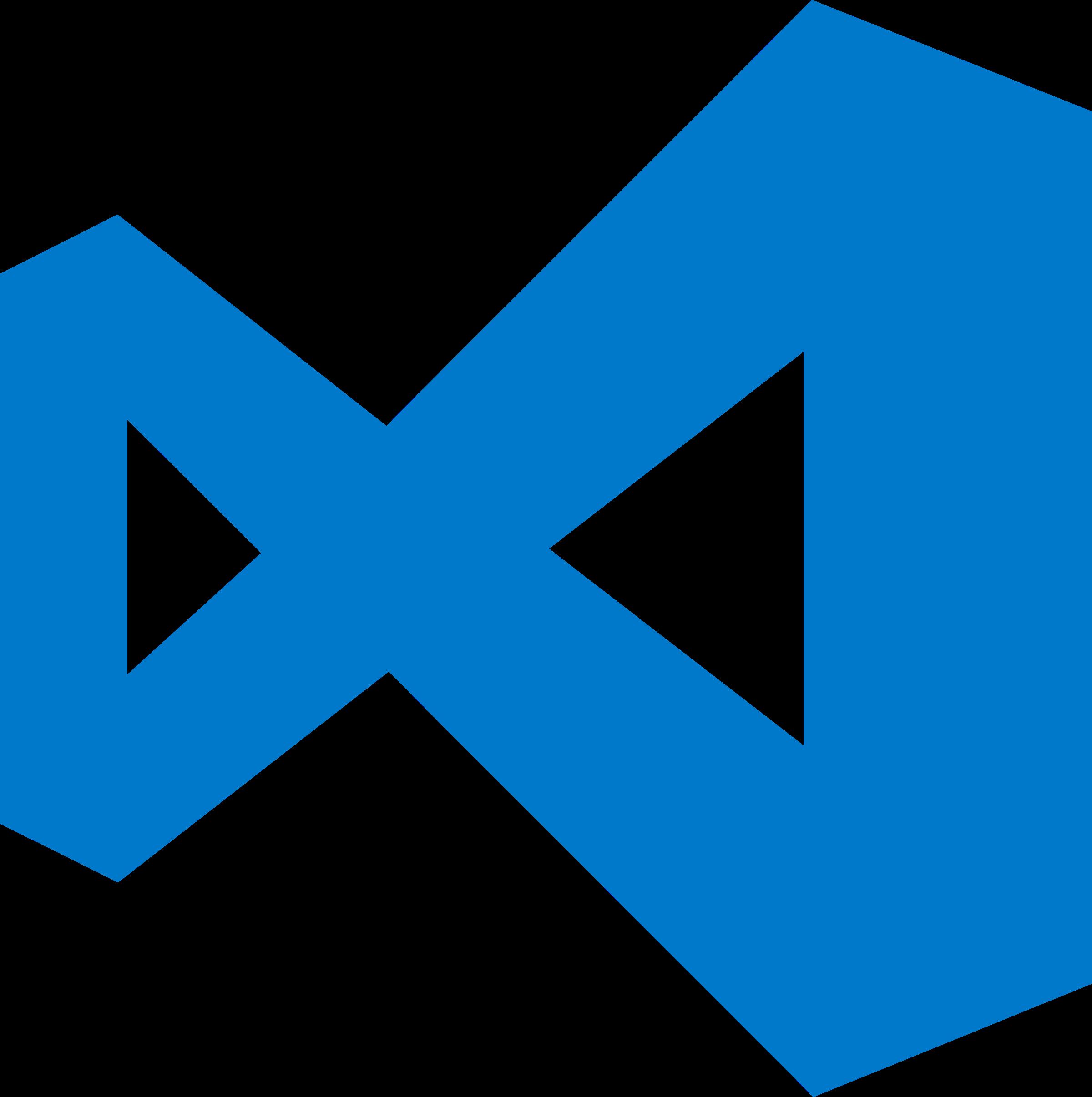 Visual Studio Code Logo PNG Transparent & SVG Vector.