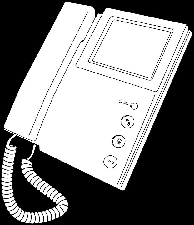 Free vector graphic: Intercom, Video.