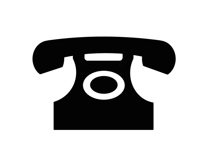 """Telephone sign as clipart"""" Photographic Prints by naturaldigital."""