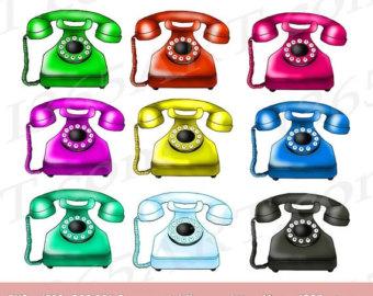 Telephone clipart.