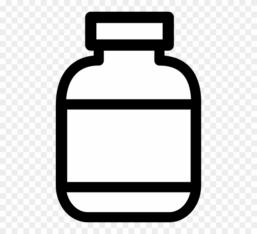 Bottle Clipart Plain.