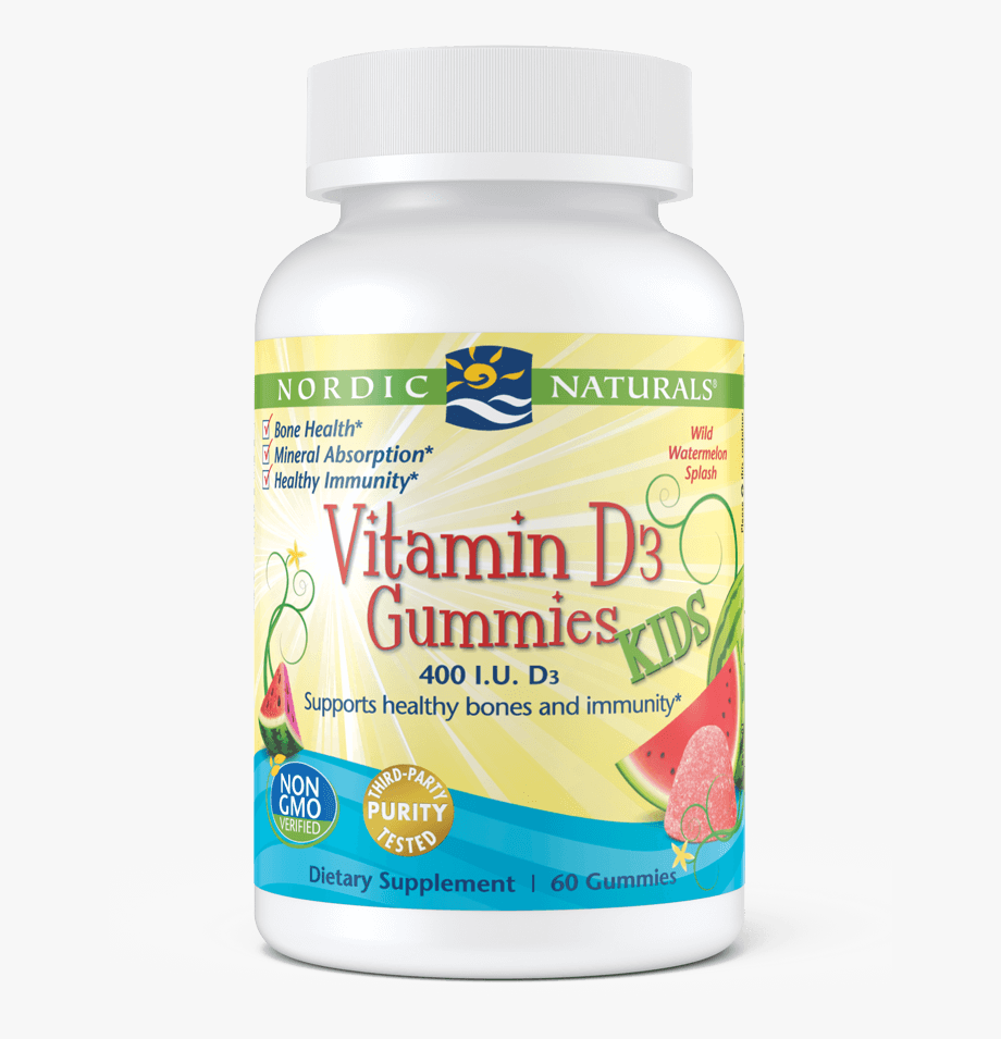 Vitamin D3 Gummies Kids.