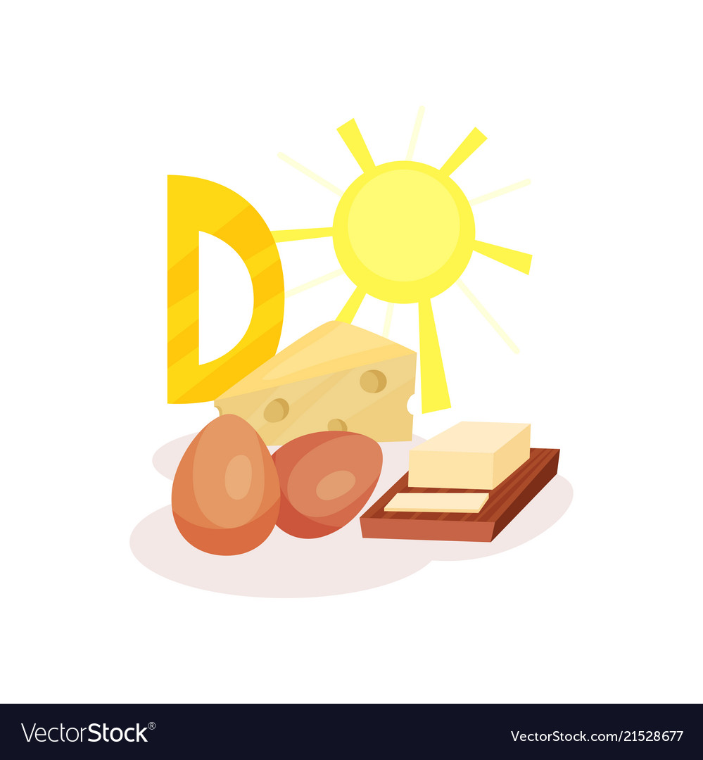 Sources of vitamin d chicken eggs butter cheese.