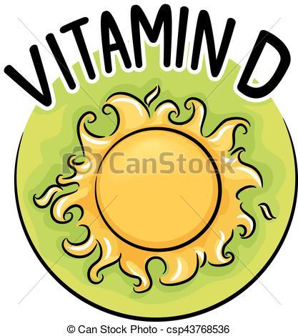 Vitamin D Icon.
