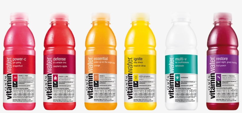 Vitamin Water On Packaging Of The World.