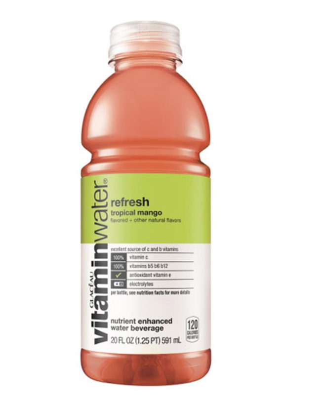 Vitamin Water.