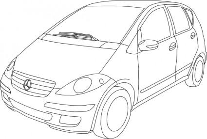Mercedes Vito Clip Art Download.