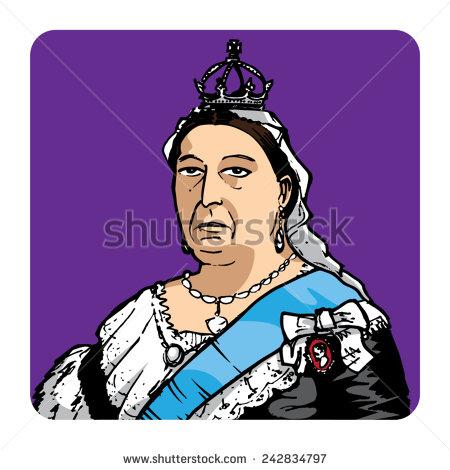 Clipart queen victoria.