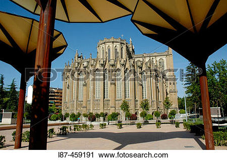 Stock Photography of Santa Maria new cathedral (XIV.