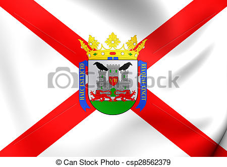 Stock Illustrations of Flag of the Vitoria.