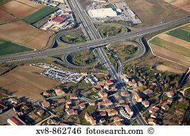 Highway cloverleaf Images and Stock Photos. 55 highway cloverleaf.