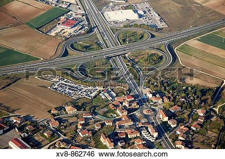 Stock Images of Highways, Gamarra, Vitoria.