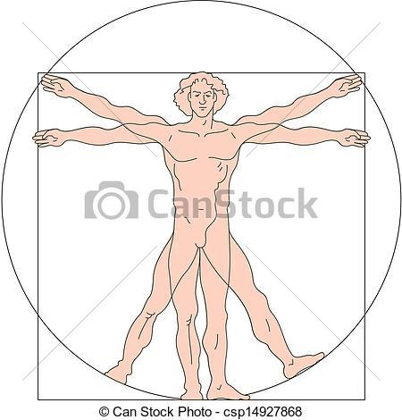 Vitruvian man Vector Clip Art Royalty Free. 92 Vitruvian man.