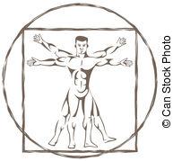 Vitruvian man Illustrations and Clip Art. 255 Vitruvian man.