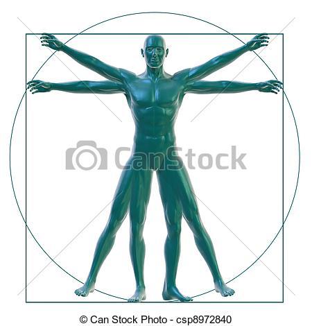 Vitruvian man Illustrations and Clip Art. 257 Vitruvian man.