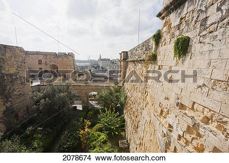 Stock Photo of Poste De Provence, Vittoriosa (Birgu), Malta.