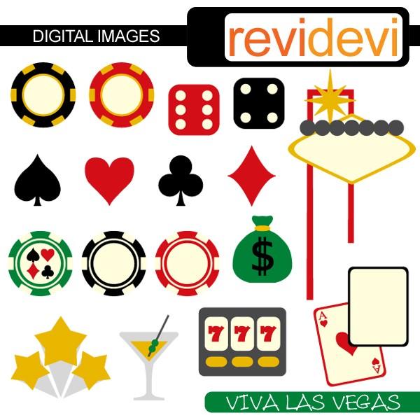 Viva las vegas clip art.