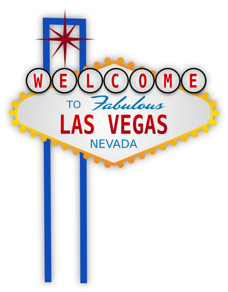 Viva Las Vegas Clipart.
