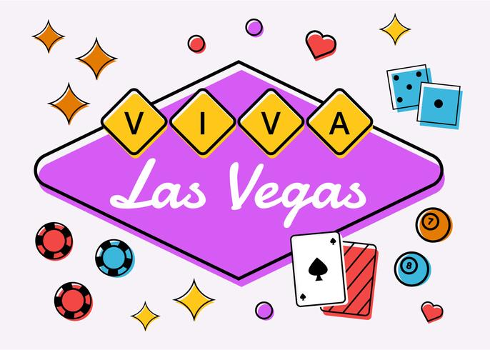 Viva Las Vegas Compotition Vector.