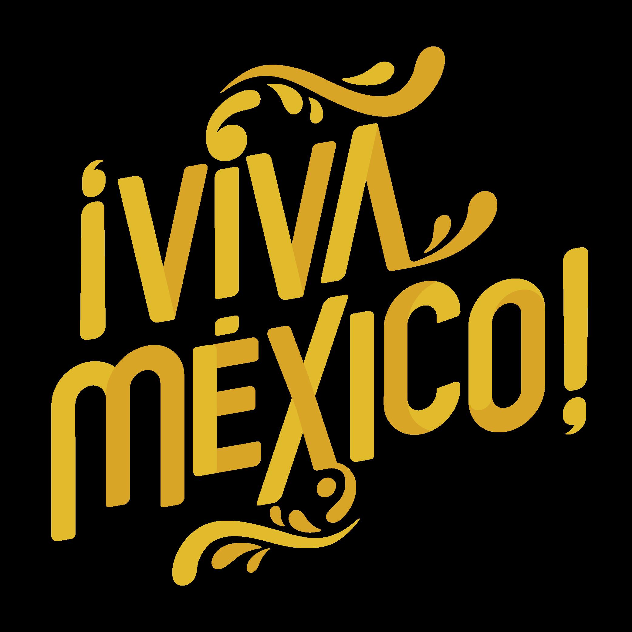 Viva Mexico Logos.