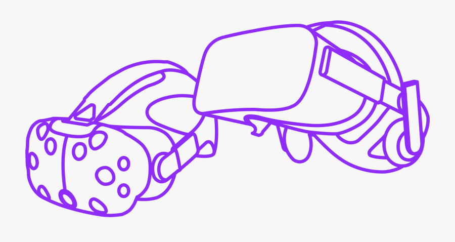 Htc Vive Oculus Rift Vr Headset , Free Transparent Clipart.