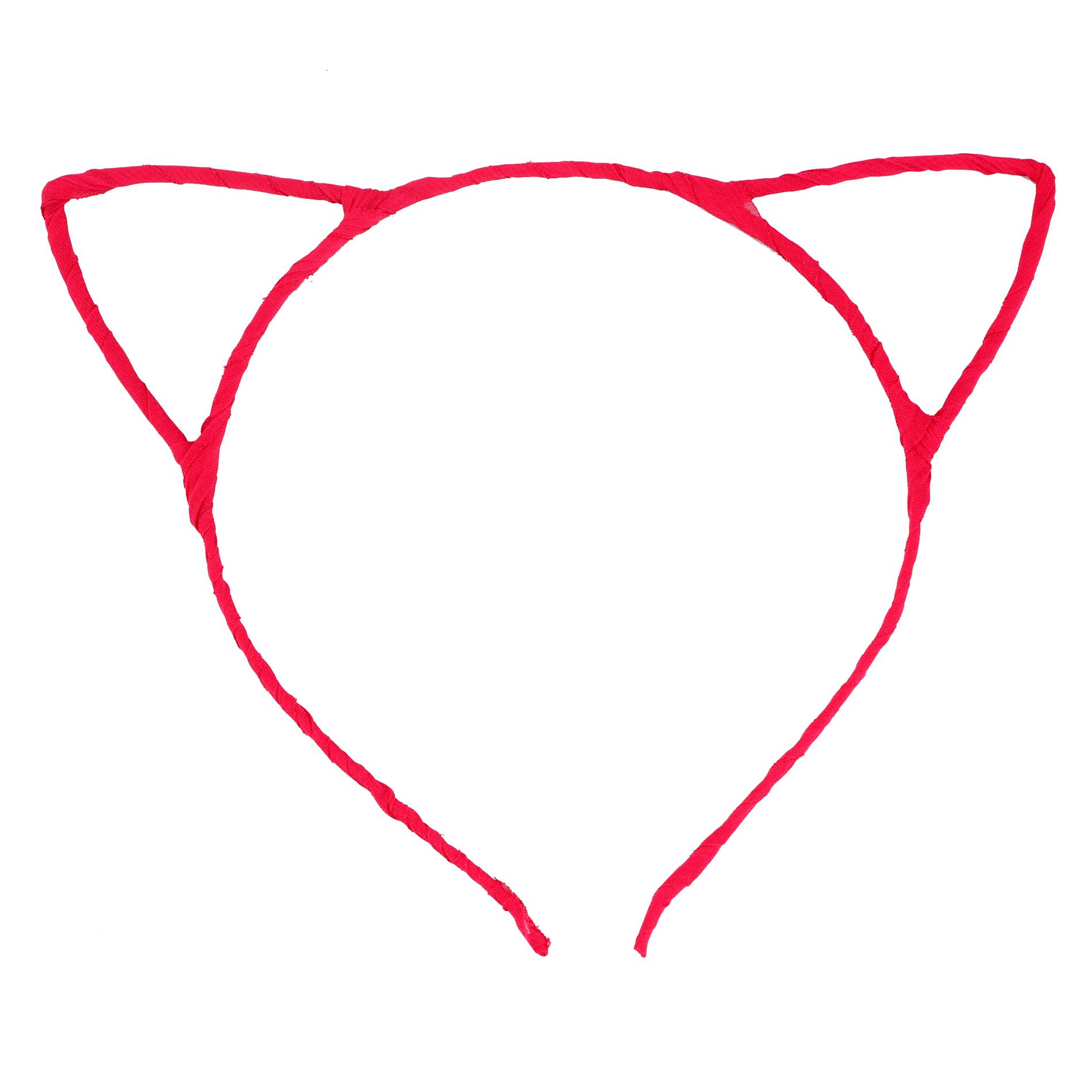 Cute Sexy Womens Attractive Vivid Color Cat Ear HeadBand Hair Band.