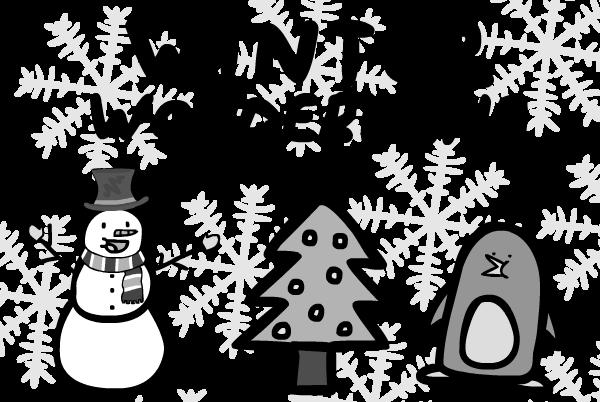 THE HAWKEYE : Winter Wonderland.