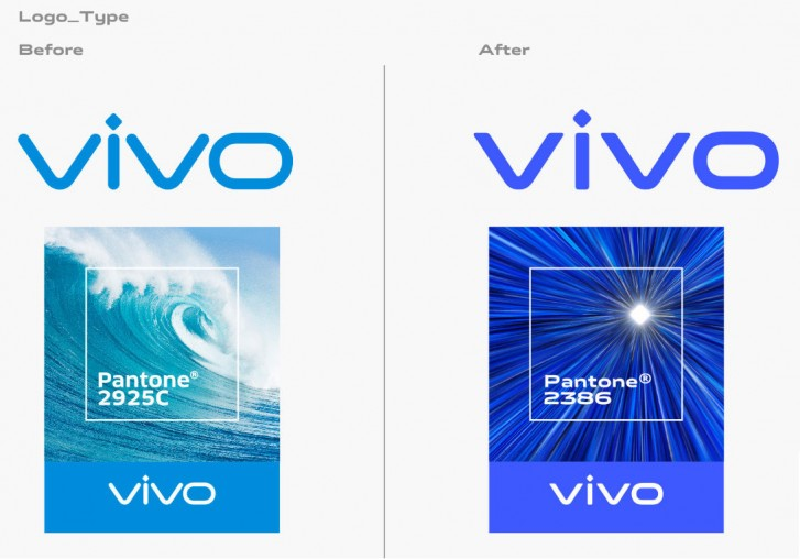 vivo unveils brand new color and font.