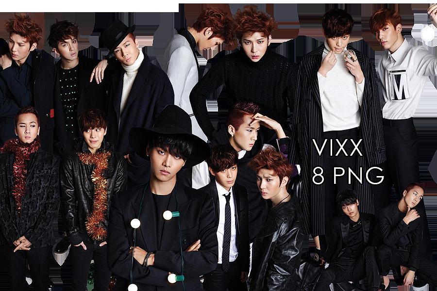 VIXX PNG Pack {Ceci 2014} by kamjong.