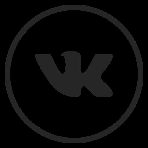 Logo, media, social, vk icon.
