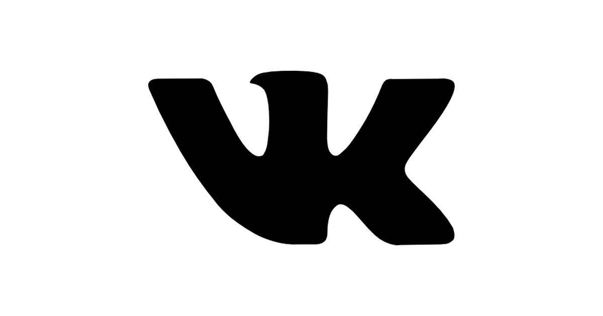 Vk social network logo.