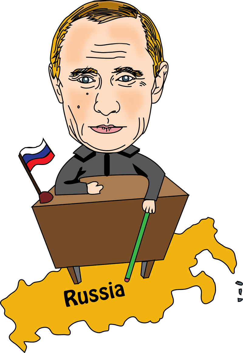 Free Vladimir Putin Clip Art.
