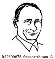Vladimir putin Clip Art EPS Images. 26 vladimir putin clipart.