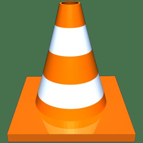 VLC Media Player Logo transparent PNG.